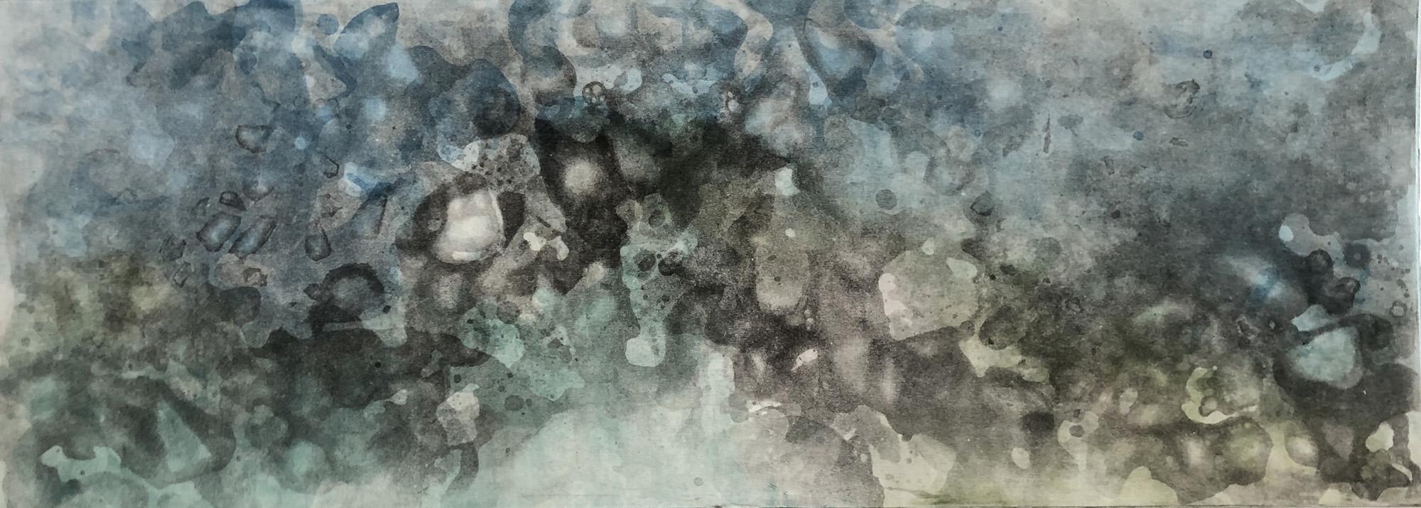 65 points - Broughton_Megan_Recherchebreen Glacial Lagoon 1 (2 plate, multicolor)